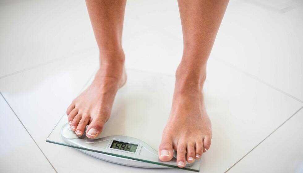 VEKTØKNING: Visste du at tarmbakteriene dine kan påvirke vekten din? FOTO: NTB Scanpix