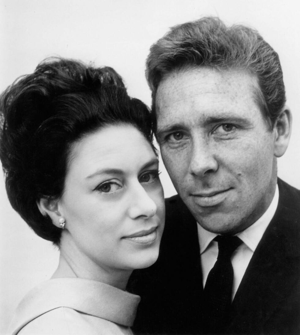 PENT PAR: Prinsesse Margaret møtte fotografen Antony Armstrong-Jones under en middag i 1958 - året etter tok han bilder av henne i forbindelse med 29-årsdagen. Foto: NTB Scanpix