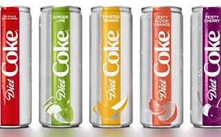 Coca Cola Light kommer med fire nye smaker