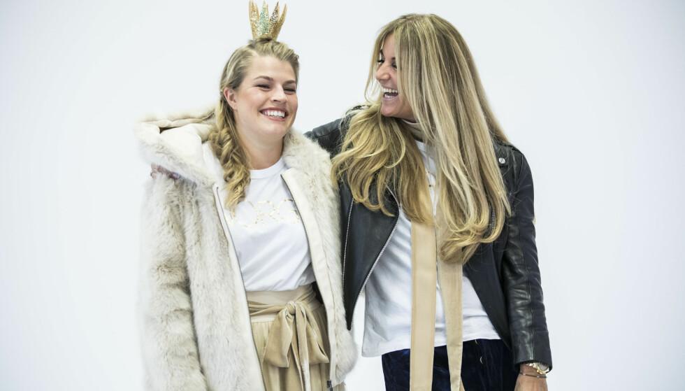 SATSER PÅ FUSKEPELS: Line of Oslo-designer Line Varner (t.h.) velger fuskepels framfor ekte pels i sine kolleksjoner. Foto: Scanpix