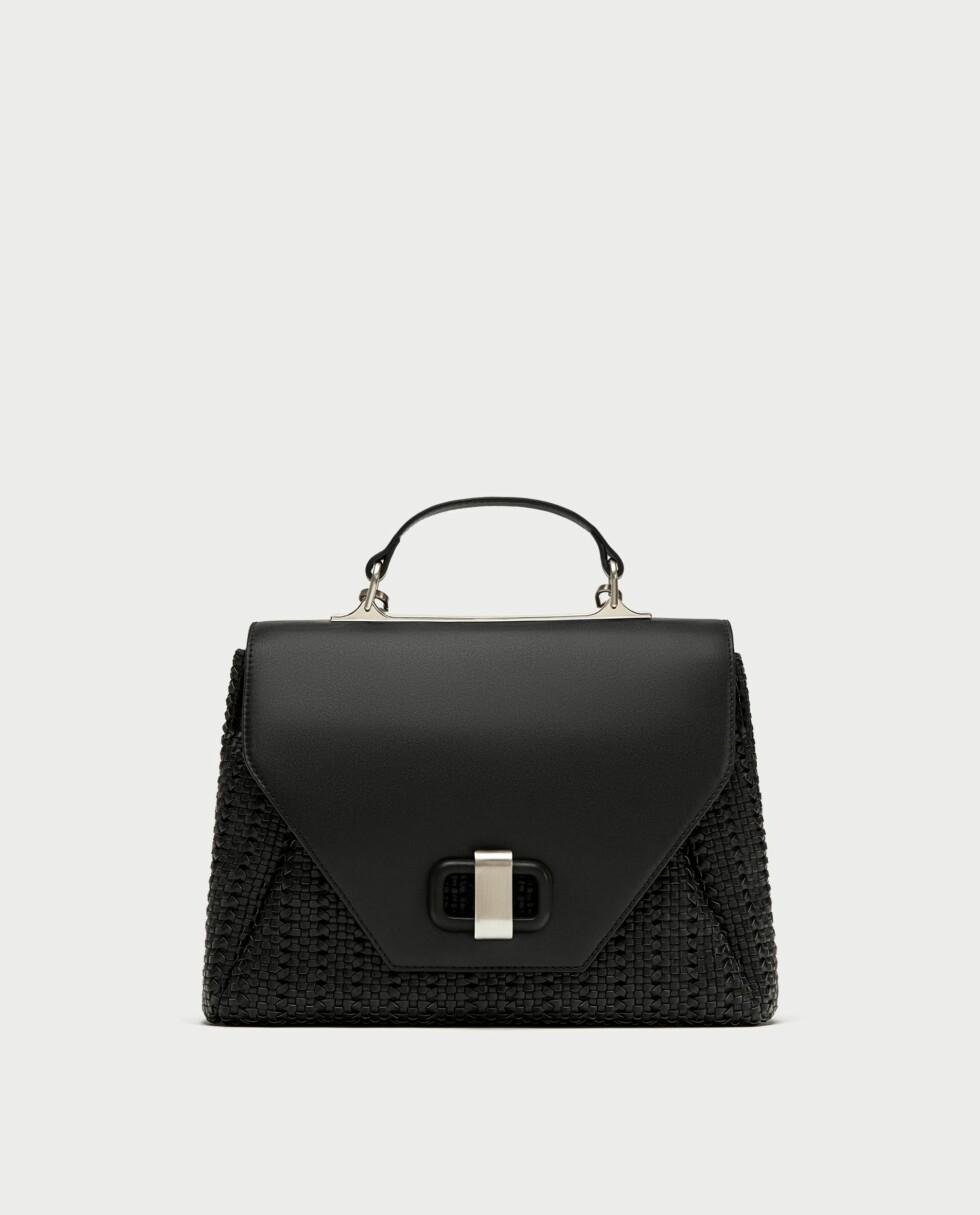 Sort veske fra Zara |559,-| https://www.boozt.com/no/no/samsoe-samsoe/nessie-pants-8325_15917854/15917857?navId=67408&group=listing&position=1000000