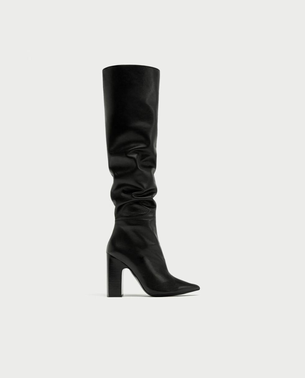 Sko fra Zara |1895,-| https://www.zara.com/no/no/h%C3%B8yh%C3%A6lt-skinnst%C3%B8vel-med-vidt-skaft-p15017201.html?v1=5550136&v2=358009