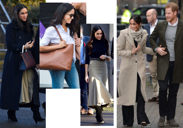 NÅ: Ingen tvil om at stilen til den kommende hertuginnen er blitt langt mer sofistikert. Foto: Scanpix