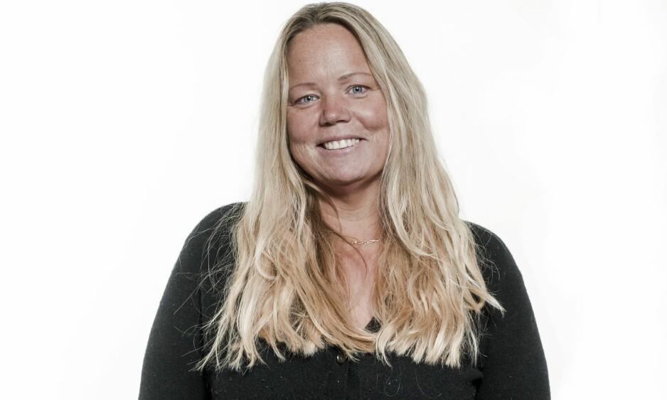 BLI NY: Etter å ha gått ned hele 32 kilo, trenger Åse tips til hva som kler den nye figuren hennes. FOTO: Astrid Waller