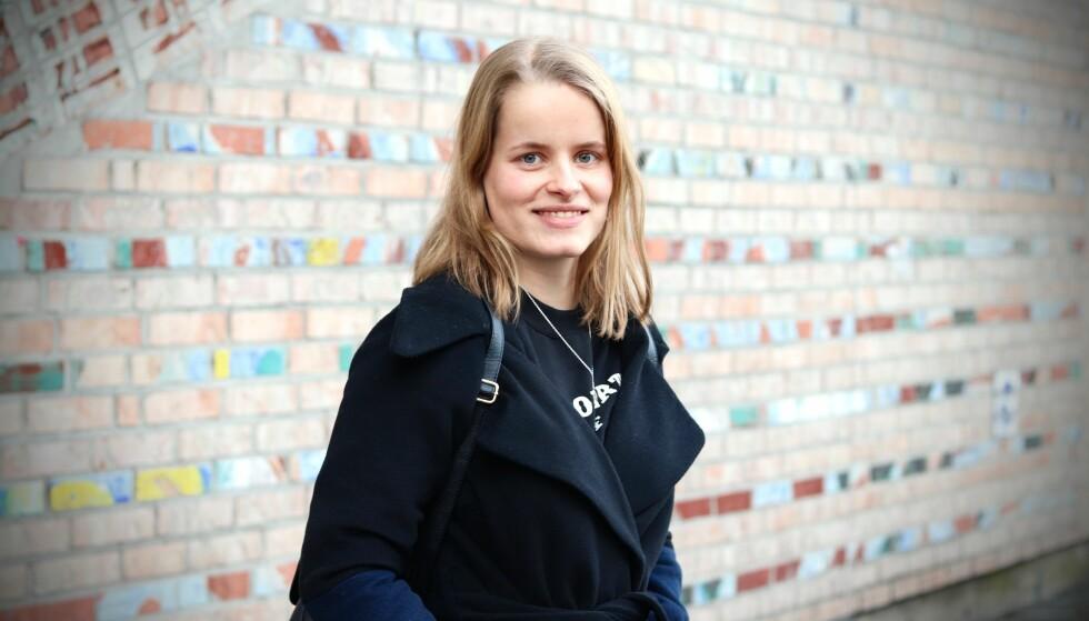 VAGINISME OG VESTIBULITT: Karoline (18) hadde både vaginisme og vestibulitt, og slet så mye med smerter, at hun måtte slutte på videregående. FOTO: Ida Bergersen
