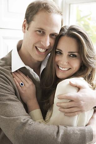 FOTOGRAFERT AV MARIO TESTINO: Forlovelsesbildene til prins William og hertuginne Kate er tatt av Testino. FOTO: Mario Testino/ NTB Scanpix