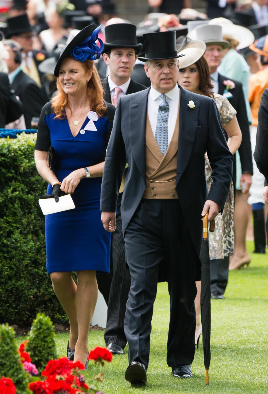 INN I VARMEN: Jack er tatt godt imot av forlovedens foreldre prins Andrew og hertuginne Sarah av York. Foto: NTB Scanpix