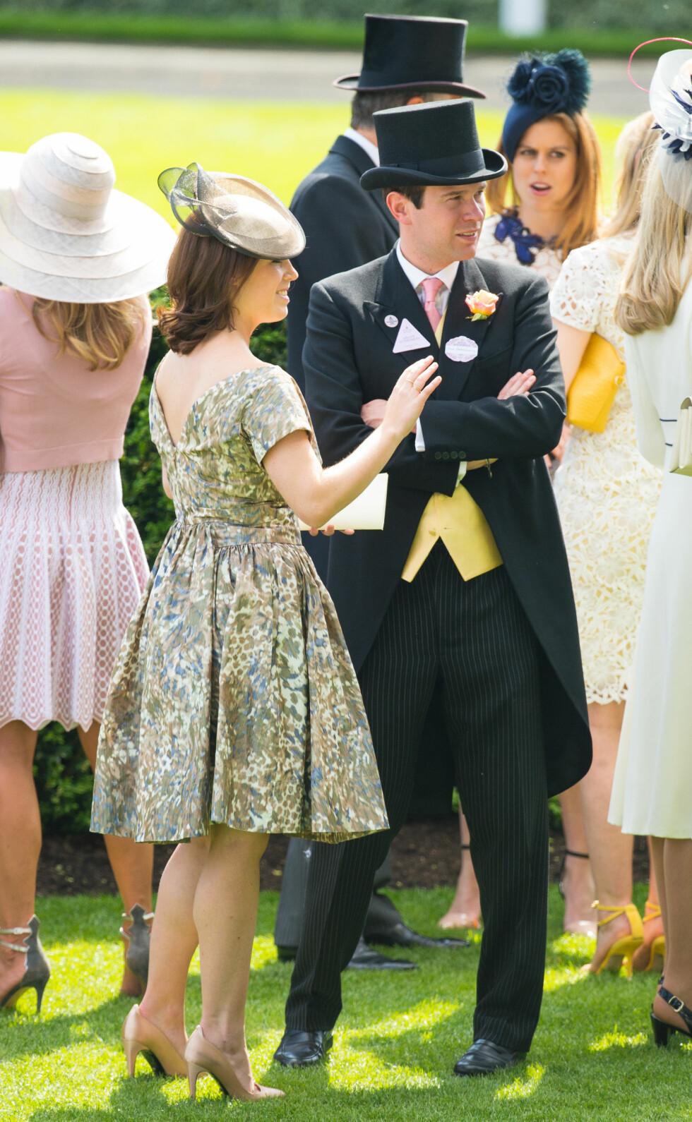 I DE ROYALE KRETSER: Prinsesse Eugenie er den åttende i rekken til den britiske tronen. Foto: NTB Scanpix