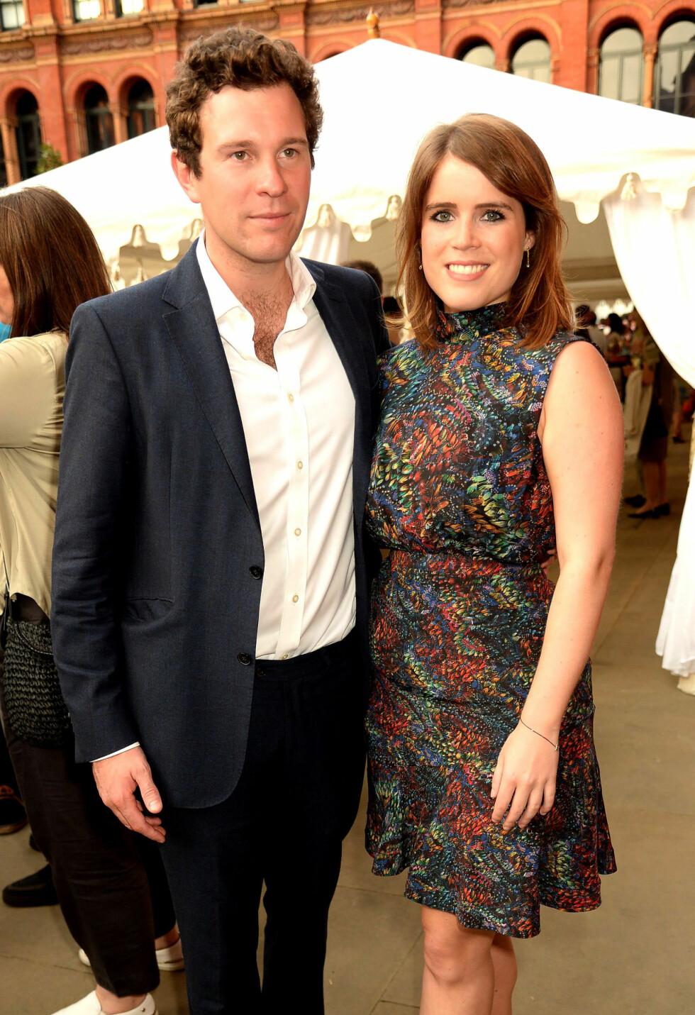 FORLSKET: Jack og Eugenie har vært et par siden 2010. Foto: NTB Scanpix