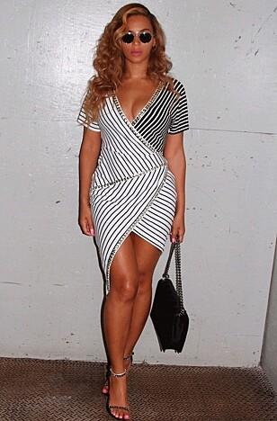 TIMEGLASS: Beyonce. FOTO: NTB Scanpix