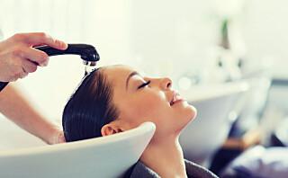 - Vi anbefaler generelt å vaske håret én gang i uken