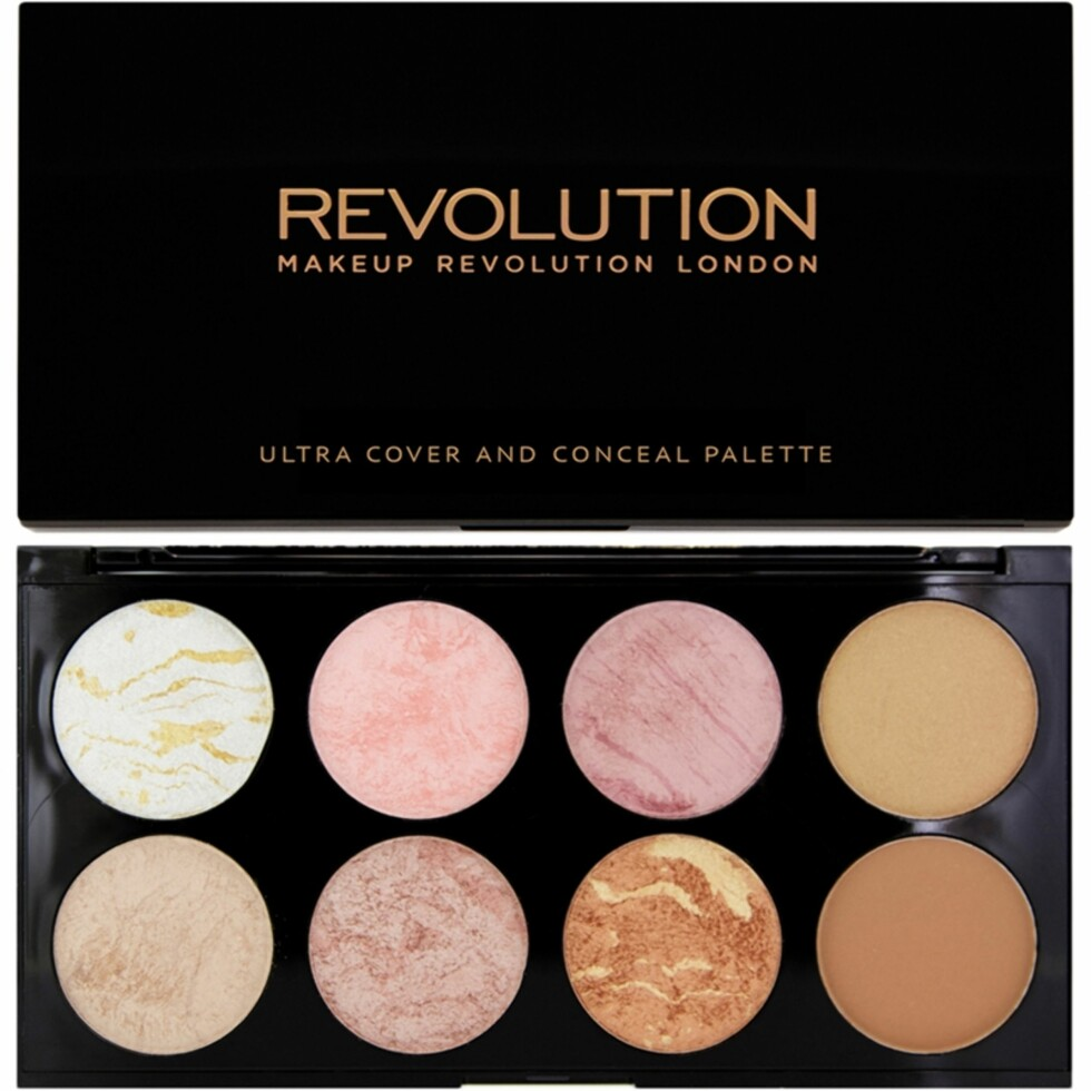 Blush + countour palette fra Makeup Revolution |60,-| https://www.nordicfeel.no/make-up/ansikt/blushpaletter/makeup-revolution-ultra-blush-and-countour-palette-golden-sugar-32706