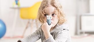 Derfor øker forekomsten av astma