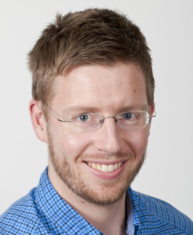 FORSKET PÅ METAKOGNITIV TERAPI: Psykolog Sverre Urnes Johnson har jobbet mye med metakognitiv terapi. FOTO: Tron Trondal