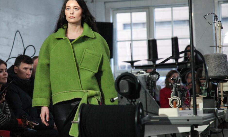 OSLO RUNWAY: Moteekspert Ida Elise Eide Einarsdottir trekker frem visningen til ESP (bildet) som en av sine favoritter. Foto: Indigital Images/ OSLO RUNWAY
