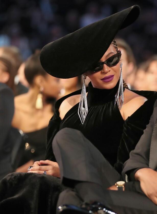 DROPPET RØD LØPER: Beyonce. Foto. Scanpix