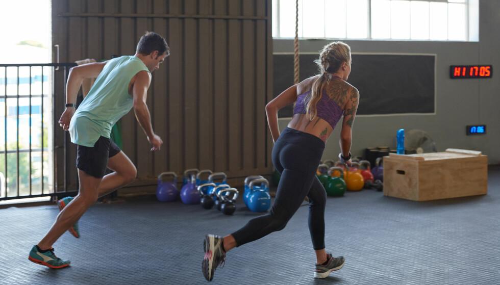 INTERVALLTRENING: Intervaller er den beste treningen om du ønsker å brenne kalorier. FOTO: NTB Scanpix