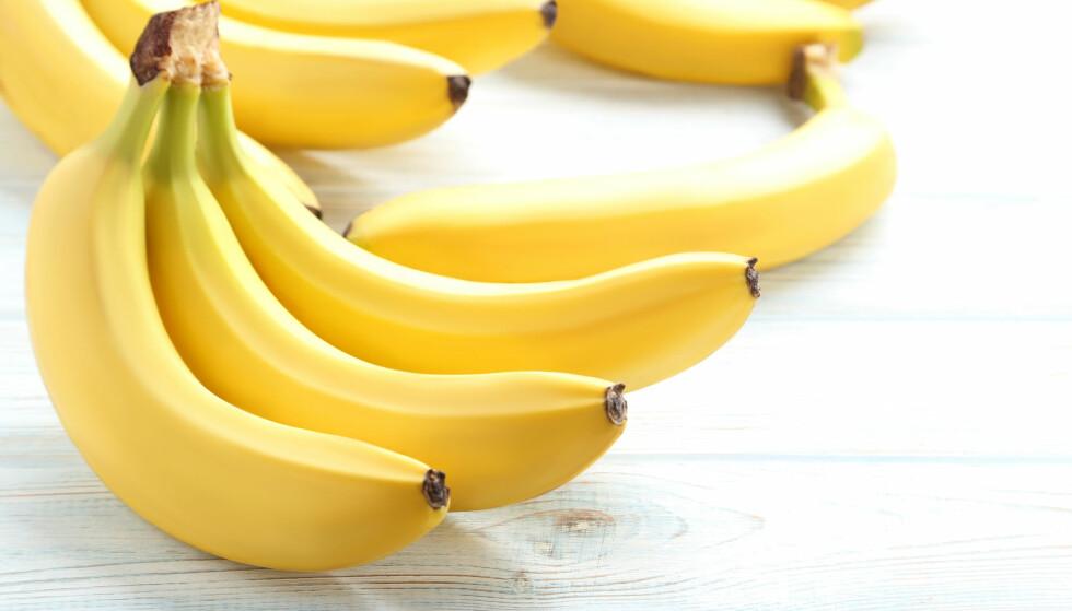 SPISELIG BANANSKALL: Ifølge journalister fra RocketNews 24, som har prøvd frukten, er den veldig søt og smaken kan minne om ananas. FOTO: NTB Scanpix