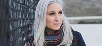 Jessica oppdaget de første grå hårene som 15-åring