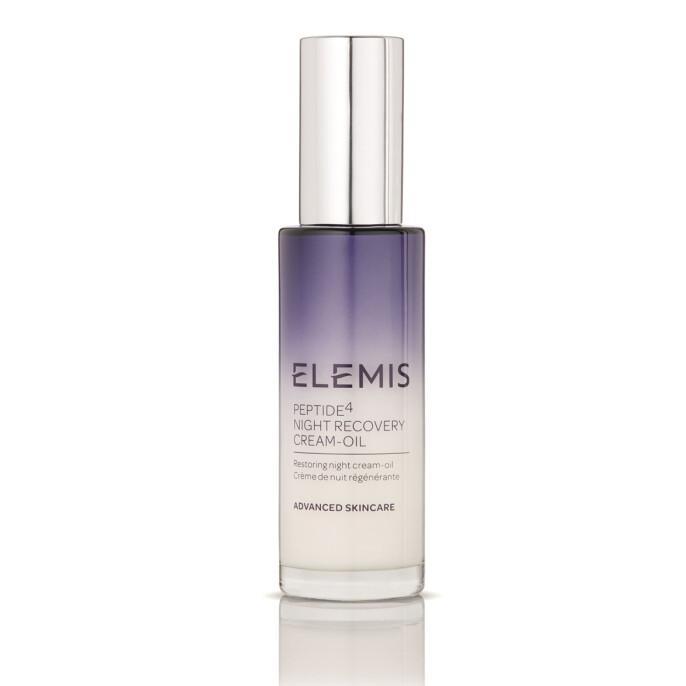 Rebalanser huden om natten (kr 870, Peptide4 Night Recovery Cream-Oil).