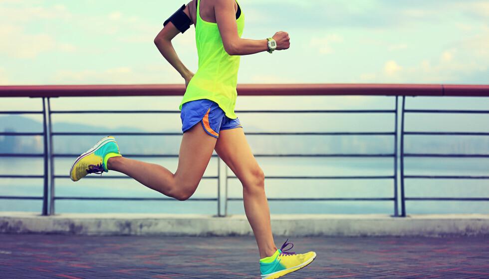 LØPERKNE: Mange løpere får smerter i knærne. Det samme kan skje om du tar i for hardt når du begynner med en ny aktivitet. FOTO: NTB Scanpix