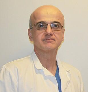 EKSPERTEN: Spesialist i indremedisin og hjertesykdommer ved Metro Legesenter Pirooz Badr. Foto: Privat