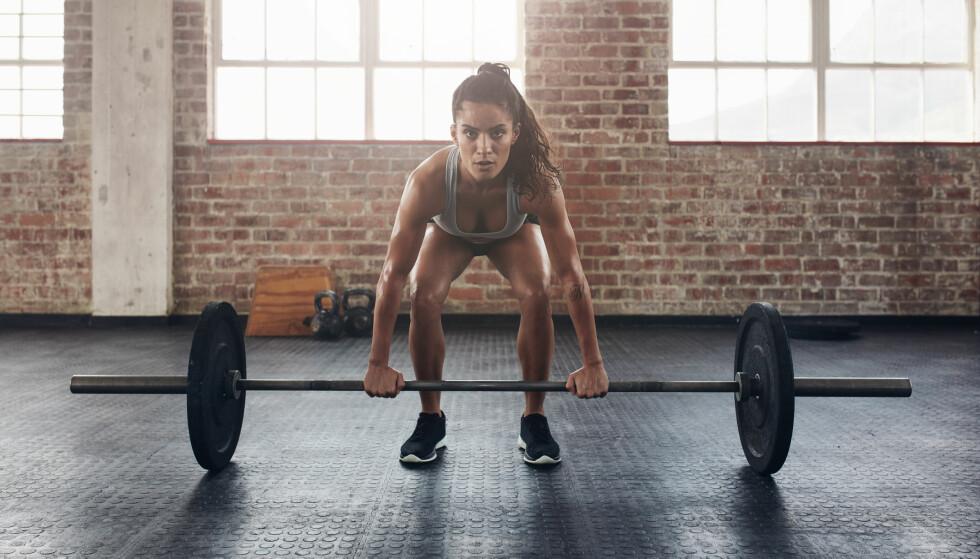 DU MÅ IKKE TIL UTMATTELSE: Du må ikke trene til utmattelse og du må heller ikke trene med kjempetunge vekter og svært få repetisjoner for å bli sterkere. FOTO: NTB Scanpix
