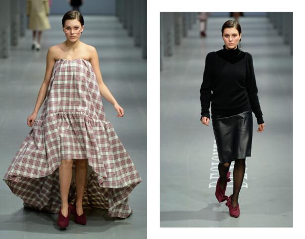 RUBY DAGNALL: Skuespilleren gikk på catwalken for Designers Remix under moteuken i København. Foto: Copenhagen Fashion Week