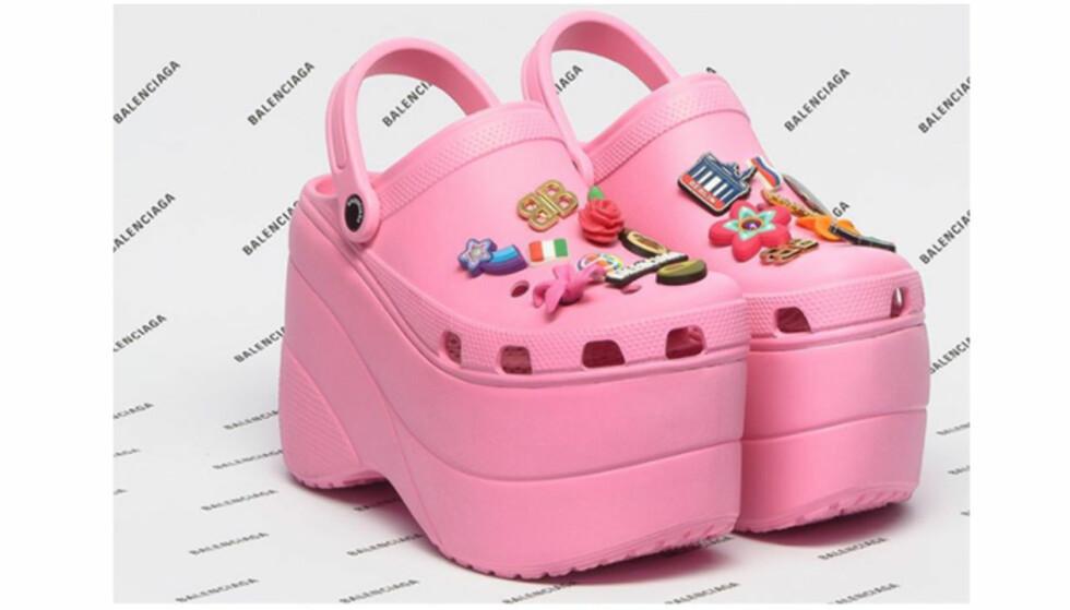 Crocs til 6500 kroner utsolgt før butikkslipp