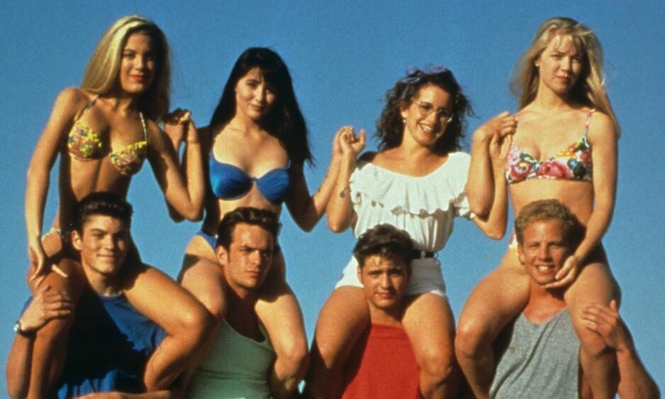 BEVERLY HILLS 90210: Mye har forandret seg siden serien rullet over skjermen i 1990. FOTO: Beverly Hills 90210