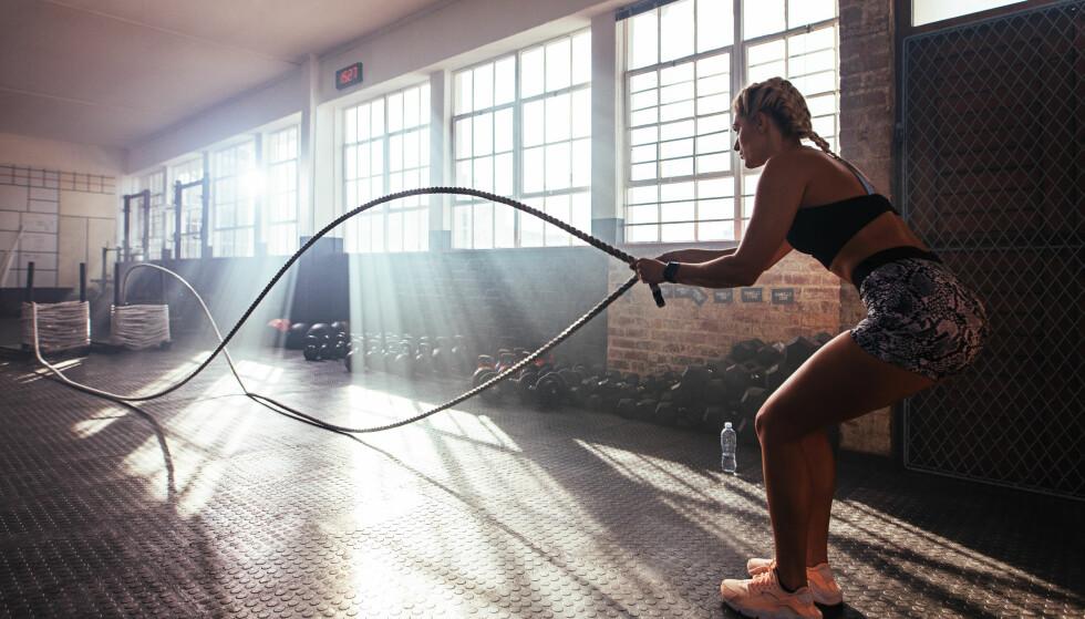 <strong>TRENING:</strong> Det nytter ikke å ligge på latsiden om du ønsker å trene som kjendisene. Foto: NTB Scanpix