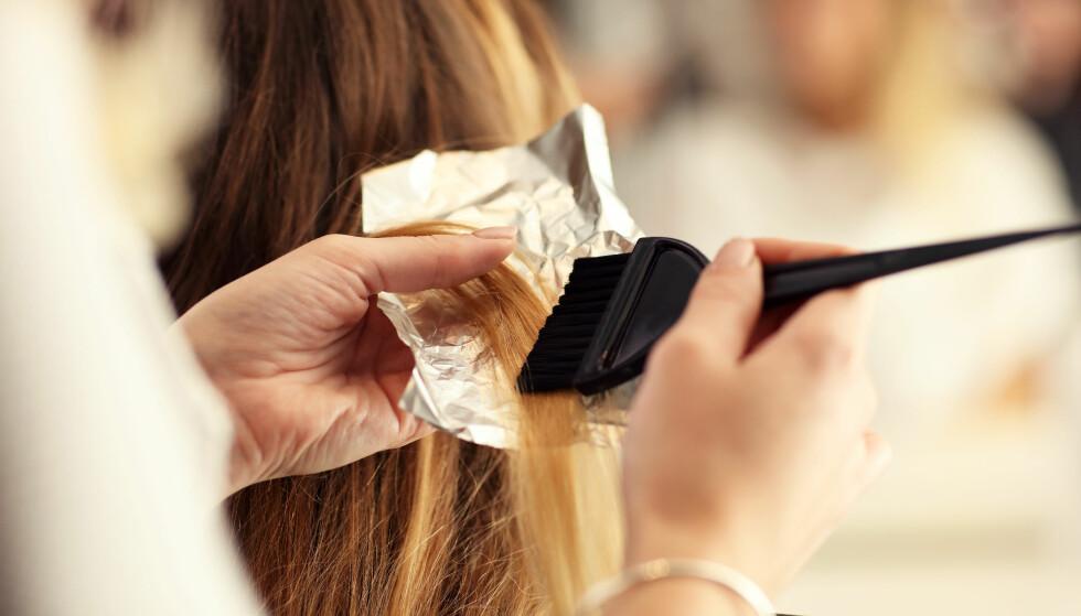 BALAYAGE: Den store hårtrenden fra 2017 er fortsatt i trenden - bare med en litt annen vri denne gangen.... FOTO: NTB Scanpix