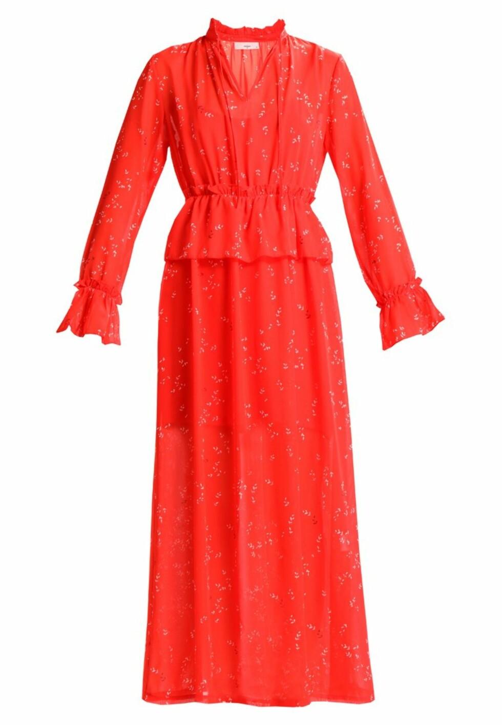 Kjole fra Minimum |999,-| https://www.zalando.no/minimum-amabel-fotsid-kjole-fiery-red-mi421c06o-g11.html
