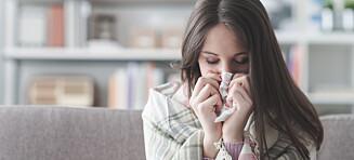En lungebetennelse kan gi alvorlig blodforgiftning, men symptomene kan være uklare