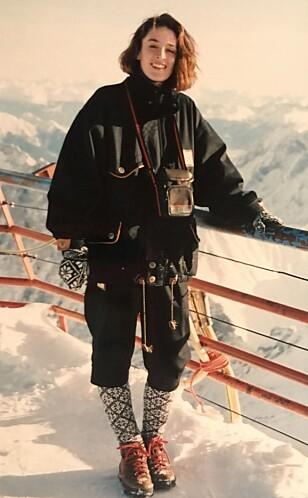VINTER-OL: Ingeborg Heldal elsker vinter-OL. Her fra OL 1994 på Lillehammer. FOTO: Privat
