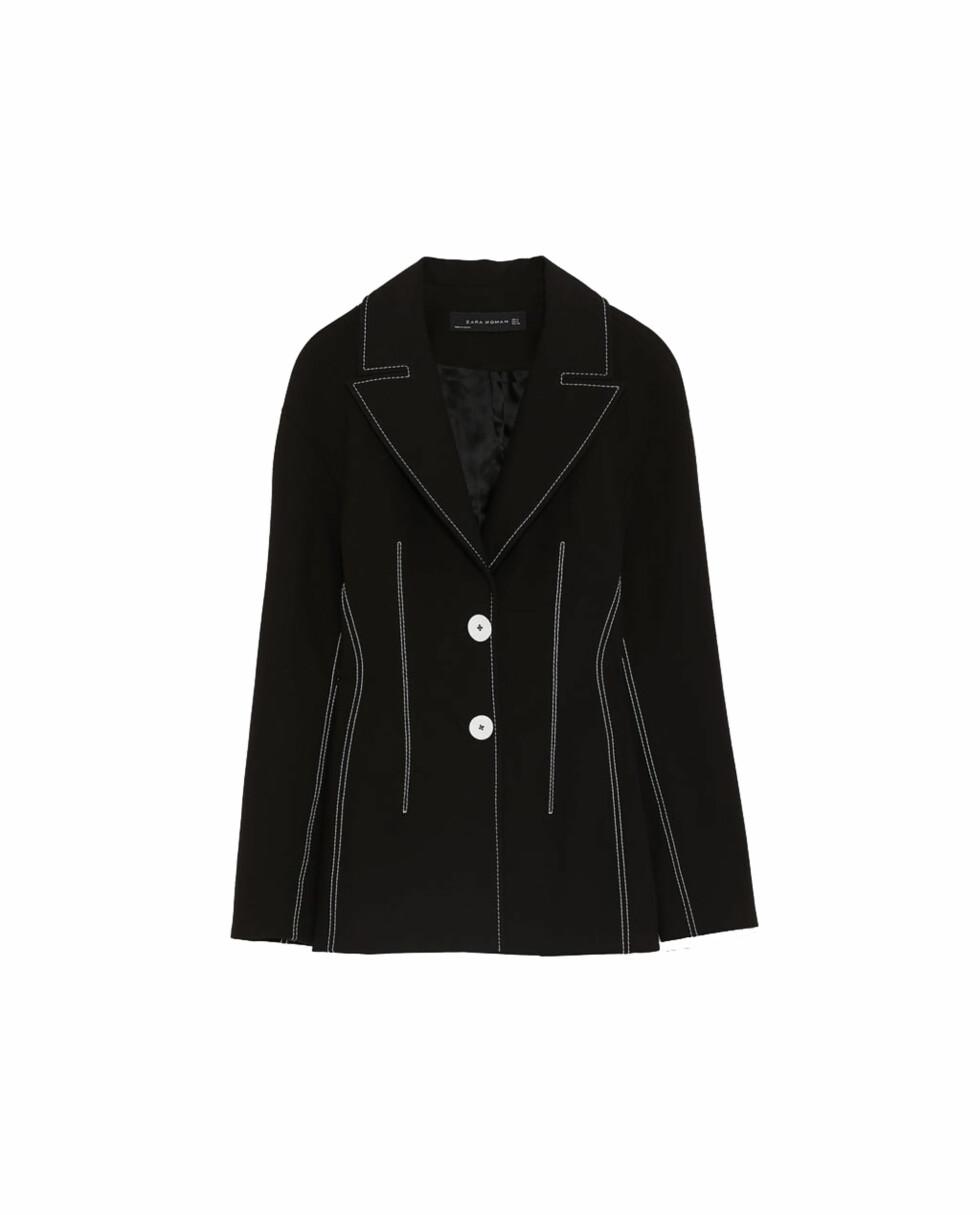 Blazer fra Zara |799,-| https://www.zara.com/no/no/blazer-med-attersting-i-kontrast-p02250694.html?v1=5689532&v2=805003