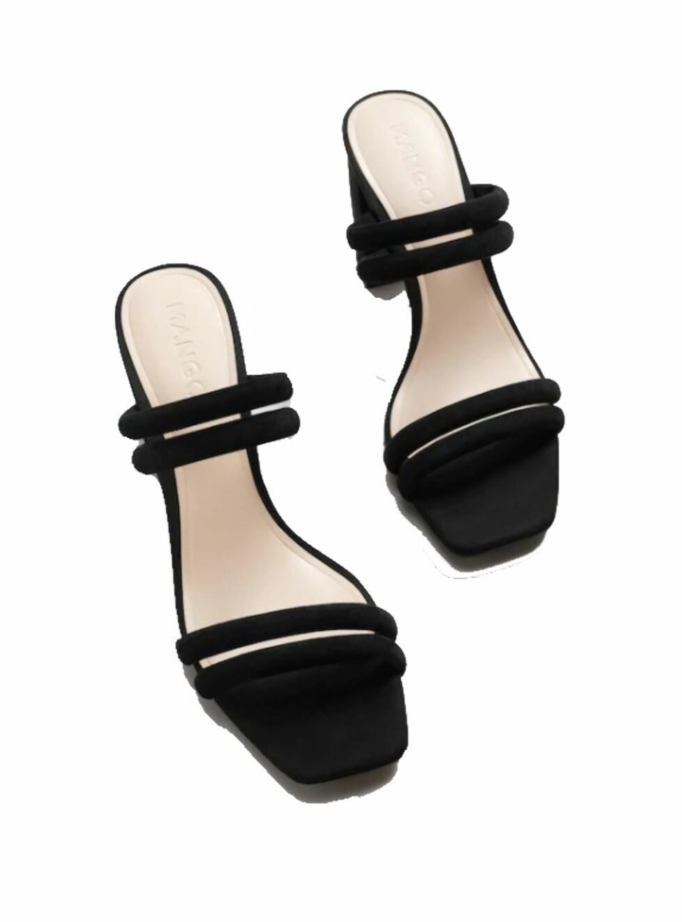 Sko fra Mango |499,-| https://shop.mango.com/no/damer/sko-sandaler-med-h%C3%A6l/sandal-med-skinnremmer_23015701.html?c=99&n=1&s=accesorios.accesorio;42,342,442&ts=1518172306849