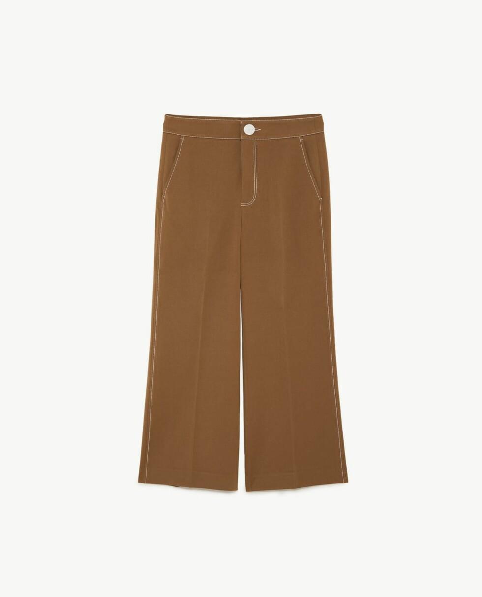 Bukse fra Zara |549,-| https://www.zara.com/no/no/-p06136052.html?v1=5888047&v2=805003