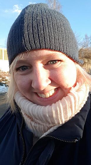 VANSKELIG Å SLUTTE: Silje Linnert må ha en flaske nesespray i uken. FOTO: Privat
