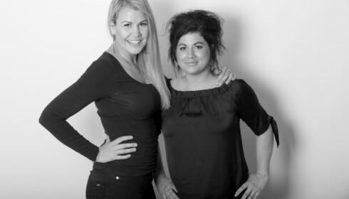 Podkaster: Maria Ebbestad (t.v.) er sexekspert i podkasten Helt Naken sammen med Sofie Jonsson (t.h.) Foto: Paul Weaver, Nettavisen