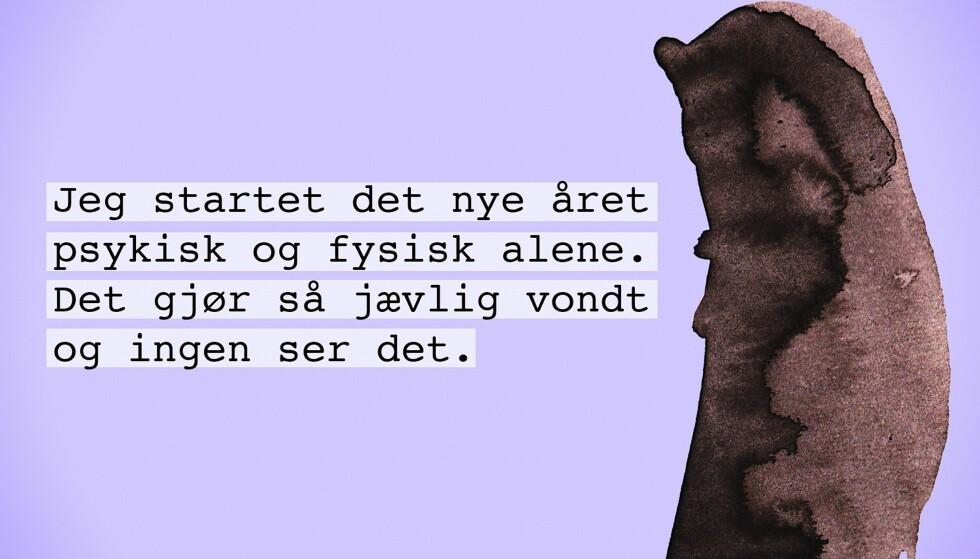 NORSKE HEMMELIGHET: Hver eneste dag bruker Cathrine Louise Finstad all sin fritid på å sortere, illustrere og dele nordmenns aller dypeste hemmeligheter. Hun får i gjennomsnitt inn mellom 30 til 60 hemmeligheter daglig. FOTO: Norske Hemmeligheter