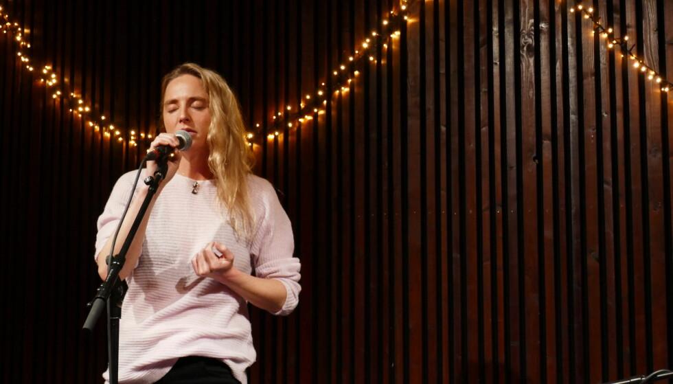 SMAKEBIT: Vi var til stede da Lissie ga publikum en smakebit av sitt kommende album Castles på Kulturhuset i Oslo i slutten av februar. FOTO: Malini Gaare Bjørnstad