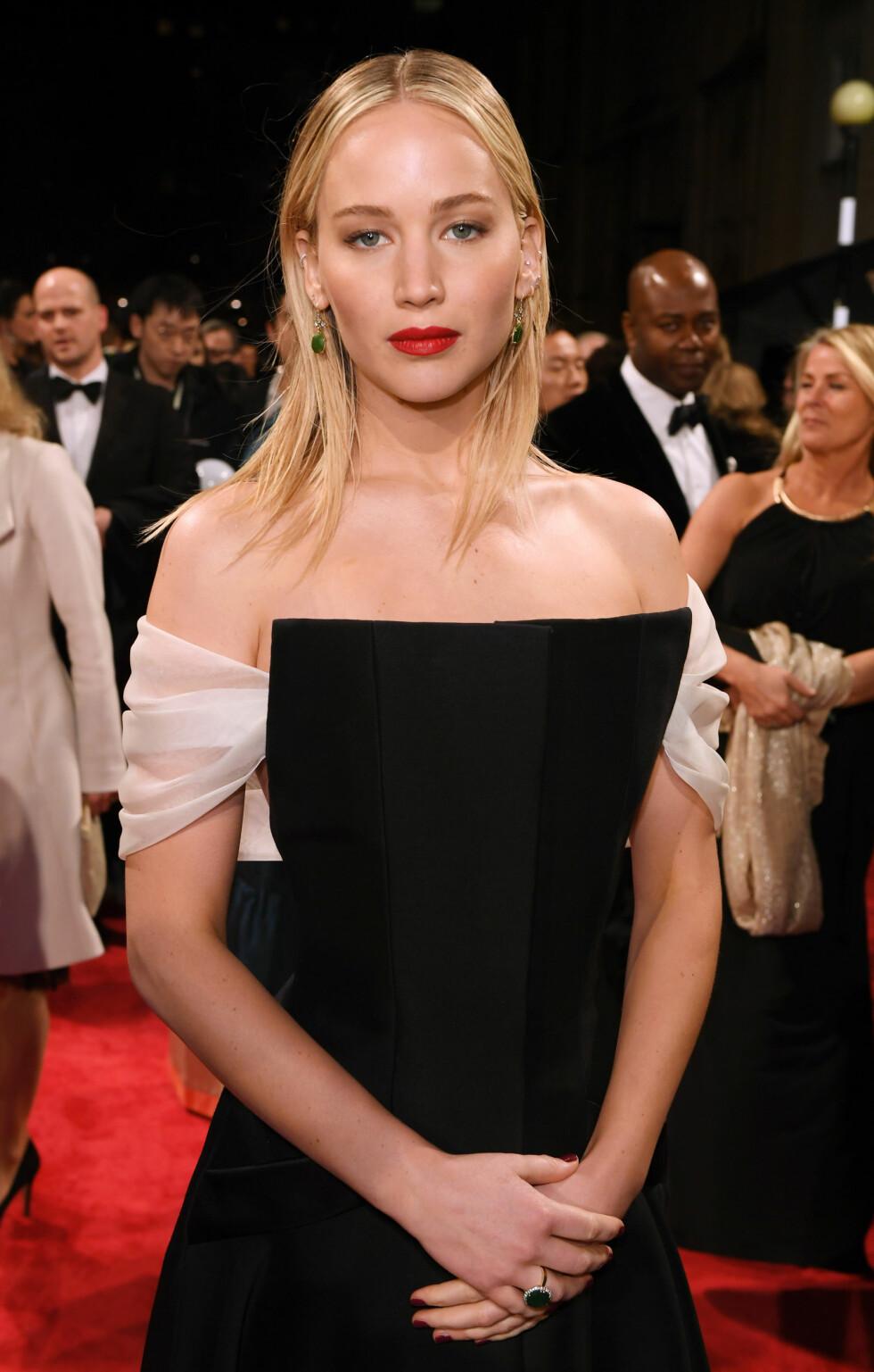 BAFTA: Jennifer Lawrence. Foto: NTB Scanpix