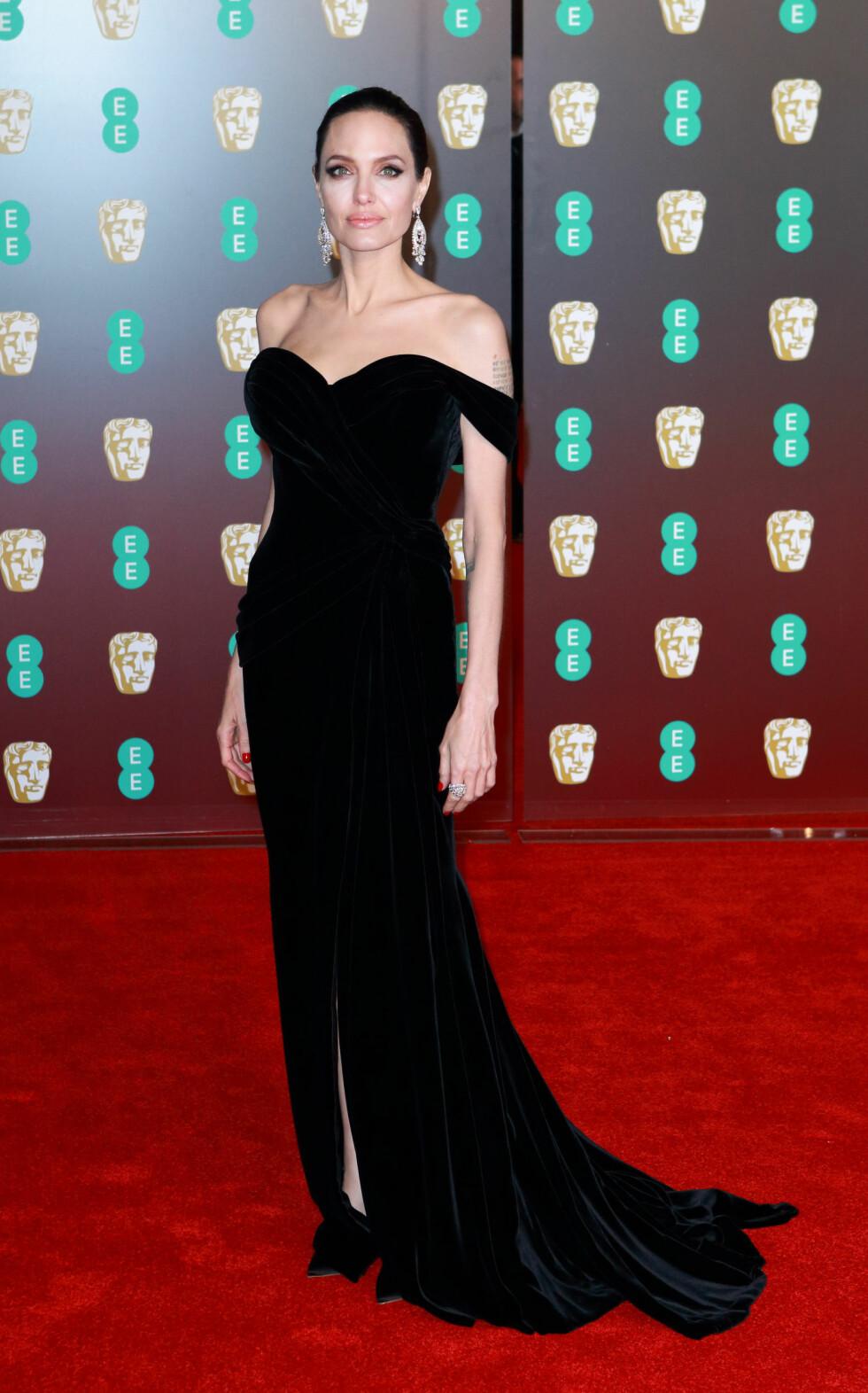 BAFTA: Angelina Jolie. Foto: NTB Scanpix