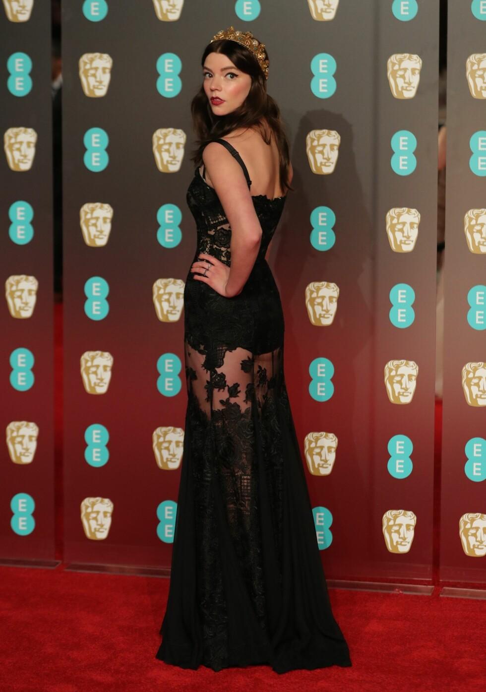 BAFTA: Anya Taylor-Joy. Foto: NTB Scanpix