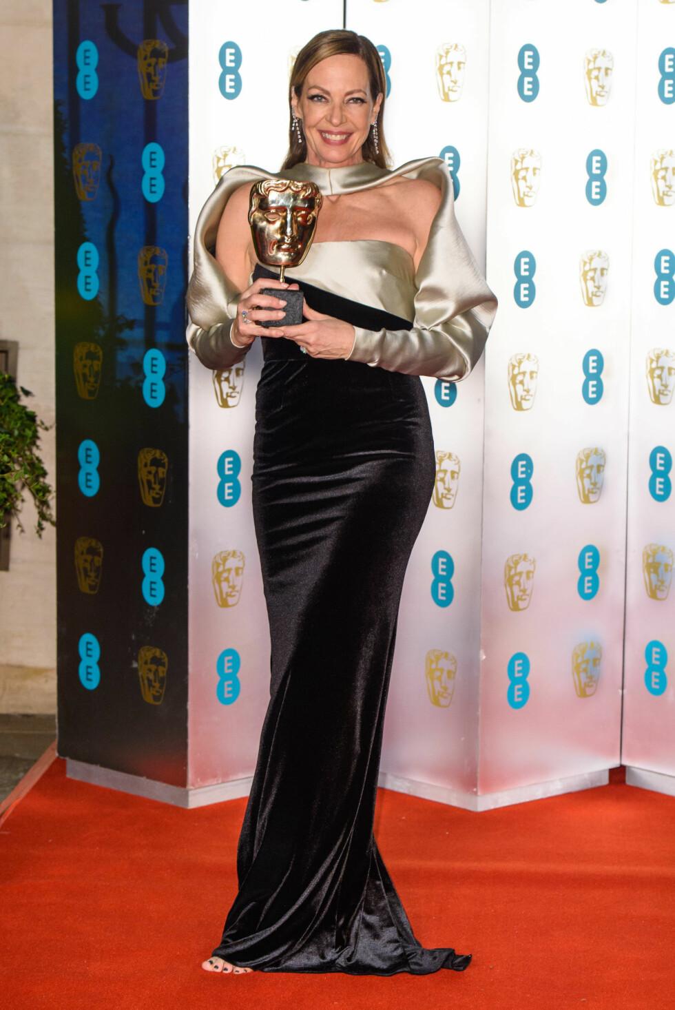 BAFTA: Allison Janney. Foto: NTB Scanpix