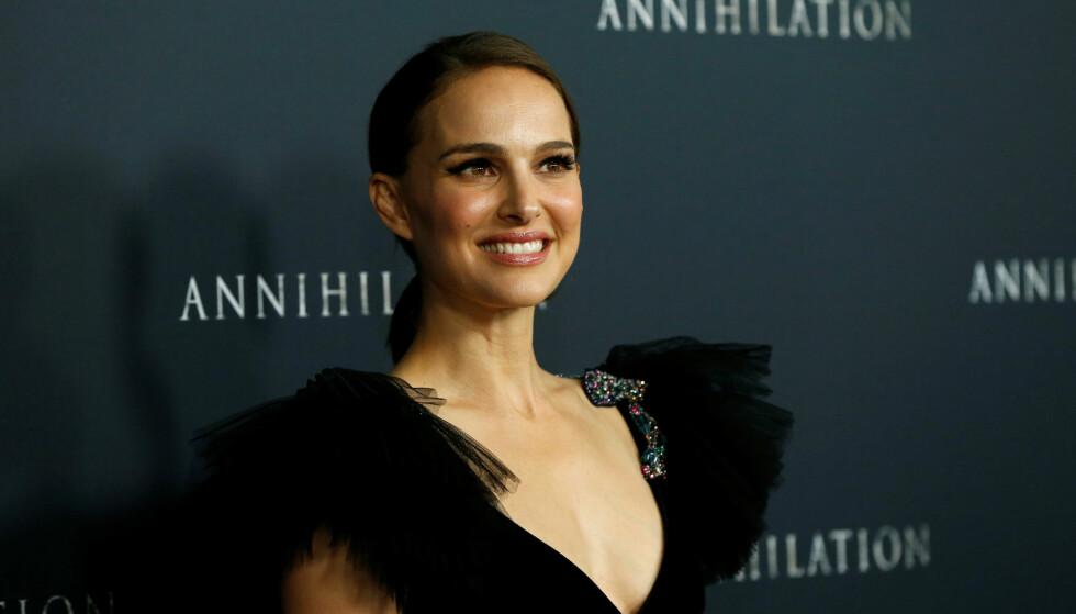 DYREVERN: Natalie Portman på premiere til filmen Annihilation. FOTO: NTB Scanpix