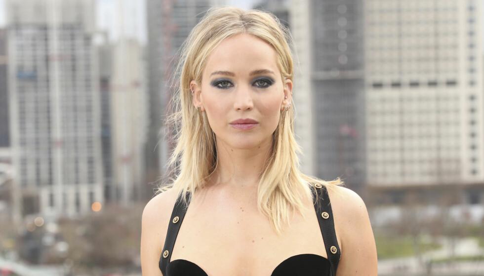 JENNIFER LAWRENCE: Jennifer Lawrence tar et års pause fra skuespillerkarrieren for å fokusere på politikk. FOTO: NTB Scanpix