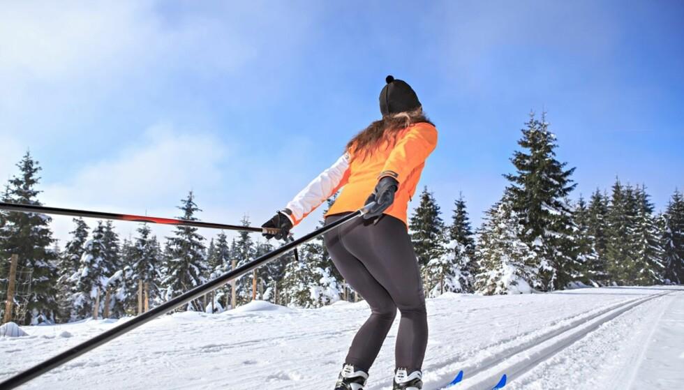 LANGRENN: En skitur i helgen vil gjøre deg godt - på veldig mange måter. FOTO: NTB Scanpix