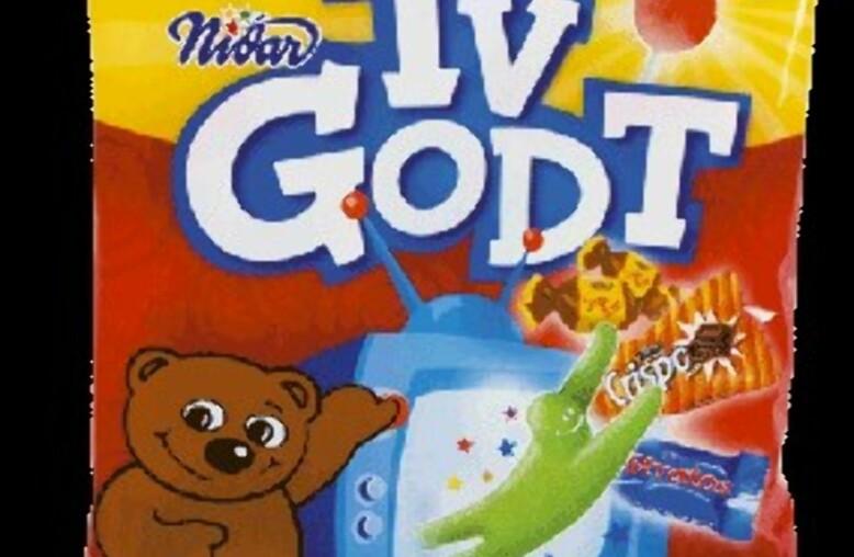 VANSKELIG: Det er vanskelig å finne et bilde av den tidligere populære godterimiksen. Foto: Nidar